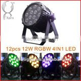 12*12W 4IN1 RGBW Led par light
