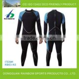 Full long john wetsuit for men and women