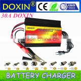 30A AC220V-240V to DC12V Automatic Intelligent Three-Stage Charging Mode Battery Charger