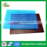uv coated best price cellular hollow sheet polycarbonate sheet