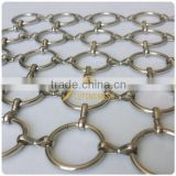 wholesale 2014 new design Stainless Steel Ring Mesh for decoration/Chain mail for decoration