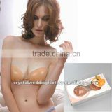 Hot sale cheap wedding accessories invisible wedding dress silicone bra for bride CWFas4931