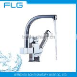 Lead Free Pull Out Spray Kitchen Sink Faucet FLG8019 High Quality Chrome Finished Kitchen Sink Faucet