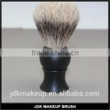Vintage Shaving set, Matt Black Luxury Silvertip Badger Hair Shaving Brush with Acrylic Handle
