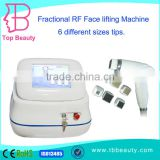 multifunction fractional RF radio frequency facial machine for wrinkles removal on forehead or face