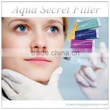 Disposable cross linked filler for eye wrinkles for plastic and aesthetic surgery Deep 2 ml