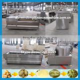 150kg/h snack machine semi automatic frozen fried potato sticks producing factory/ french fries production line