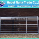 heavy duty hot dipped galvanized corral panels /metal livestock field farm fence gate for cattle