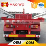 China JACK flatbed container trailer for heavy truck