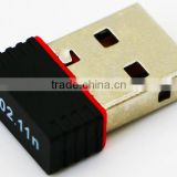 Factory Direct Cheap Price USB Mini Wireless 150M LAN Adapter USB 2.0 Wireless 802.11N Driver