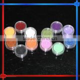Colorful Nail Art Glitter acrylic powder for nail decoration set,shape glitter