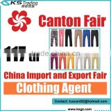 2015 117th China Guangzhou Canton Fair for Trousers Clothing Service