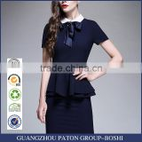 Summer dress suit short sleeved dress office ladies airline stewardess uniform custom made welcome