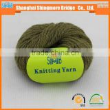 Knitting wool yarn manufacturer online shopping Alibaba China cheap wholesale 100 wool yarn with low price