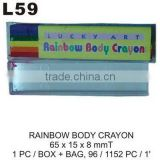 L59 RAINBOW BODY CRAYON