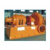 Yellow Horizontal Francis Hydro Turbine / Water Turbine Generator 200KW for Power Station