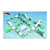 Ultimate Huge Inflatable Floating Water Park Hot Welded Security For Resort