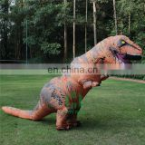 HI CE high quality funny inflatable dinosaur costume for adult ,inflatable costume for entertainment