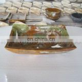 green onyx square sink