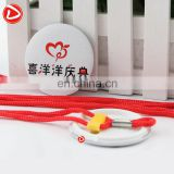 Badge craft gift Badgecustomized products,pope tie,customized products 58mm pope tie ,Badge with rope factory customized