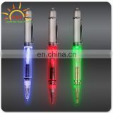 Yes Novelty and Plastic Material christmas led light pen/plastic Glow led pen