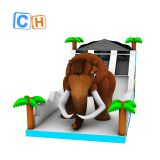 CH Inflatable amusement inflatable playground elephant inflatable slide