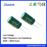 made in china electronic component capacitor 1000UF6.3V
