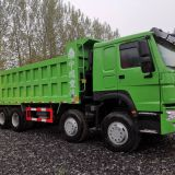 SINOTRUK HOWO used Dump Truck 8X4 40 Tons Secondhand  8x4 tipper