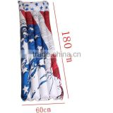 Inflatable American flag swimming pool beach mattress float,inflatable lounge pool