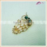 Opal Owl Brooches For Women Fashion Jewelry Rhinestone Korea Gold Plated High Quality Gift