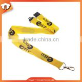 Fashion polyester lanyard with ID badge holder