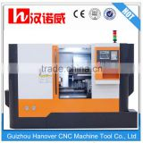 Construction lathe machine CKX360E with 8'' hydraulic chuck 53mm spindle bore 8/10 hydraulic turret cnc tools made in china