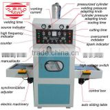 8KW high frequency welding and cutting blister packing machine for cell phone sets