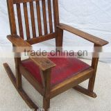 RCH-4296 Vintage Childrens Oak Rocking Chair                                                                         Quality Choice
