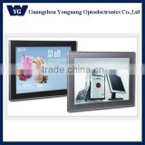 Acrylic panel and high quality brightness LED slim light magnetic box with aluminum frame