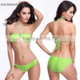 ladies sexy swimsuit women sexy bra with highwaist band slip