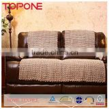 2014 New Design Weave Knit sofa cover cloth