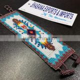 Embroidered Seed Beads Bracelet Summer Loom Tribal Hipanema Jewelry