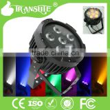 2015 Alibaba Newest design environmental 6*15w 6in1 RGBWA UV Led Par Light Uplighting for Dj Lighting