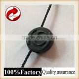 Fashional good quality plastic seal tag withlogo string cow ear tag