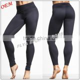 wholesale custom high quality 73% Polyester 27% Spandex yoga leggings dry fit high waist workout yoga pants for women                                                                         Quality Choice
