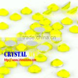 Non hotfix rhinestones flatback crystals flatback crystals flatback Citrine Colour flat back non hot fix strass for dressing