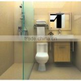 toilet basin combination modular bathroom design storage
