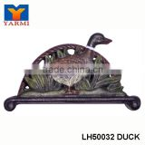 ANIMALS DECORATIVE METAL ENVELOPE HOLDER