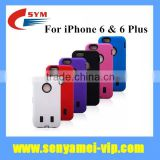 2015 New Products 3 in 1 Hybrid Case For iPhone 6 Covers Shockproof,Back Mobile Phone Cases