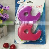 Solid color tape dispenser tape suction card packaging stationery set easy gummed paper 1542