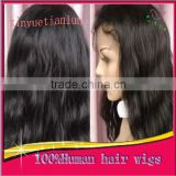 Hot Sale Cheap Beautiful Body Wave Virgin Hair Lace Wig Remy Hair Lace Front Wig For Black Women