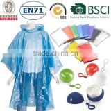 PE Disposable Raincoat/Rain Coat/Rain Jacket/Rain Poncho in Ball                                                                         Quality Choice