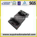 tie plate for railroad