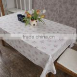 restaurant table decoration banquet table cloth oilcloth fabric